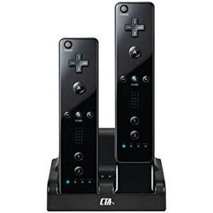 La Estación De Cta Digital Mando De Wii De Carga Dual Con