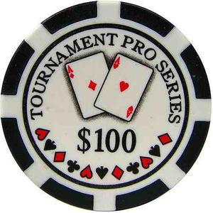 Phil Hellmuth Jr. Torneo Pro Series Poker Chips, Conjunto