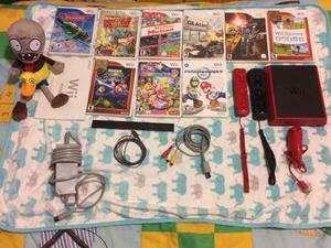 Wii Mini Con 9 Películas Y Dos Controles Y Un Joystic
