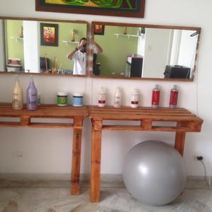 Tocador peluqueria barberia espejo medell n posot class - Espejos peluqueria precios ...