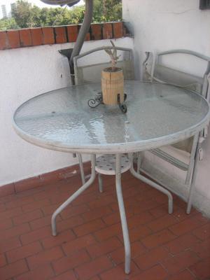 Sillas para terraza balcon y jardin posot class for Mesa exterior terraza
