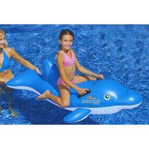 61 Deportes Bordo Azul Delfín Inflable Piscina Flotador