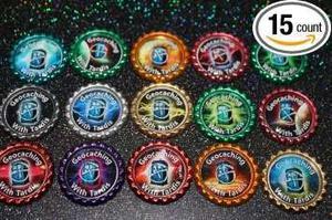 Botella Cap Geocaché Monedas - Doctor Who Tardis En El Esp