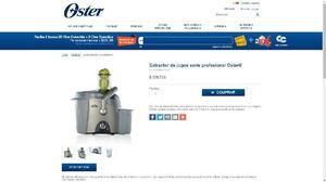 Extractor de Jugos Oster, para extrenar - Pereira