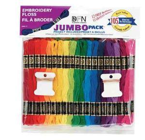 Jumbo Pack Janlynn 105 Madeja Seda Del Bordado