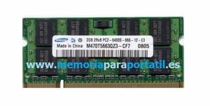 Memoria Ram Ddr2 Para Portatil