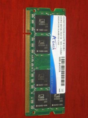 Memoria Ram Ddr2 Para Portatil De 2 Gb