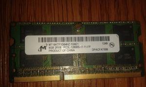 Memoria Ram Ddr3 De 8gb Pc3l De Portatil