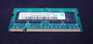 Memorias Ram Ddr2 De 512mb Para Portátil