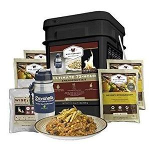 Wise Empresa 72 Horas De Ultimate Kit De Alimentos Deshidr