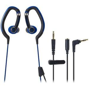Audio Technica Sonicsport In-ear Headphones, Azul,