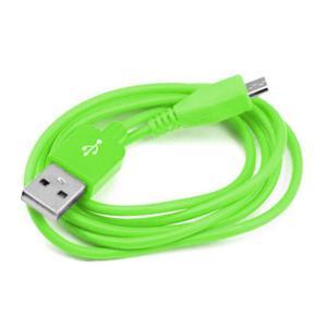 Cable De Carga Usb A Micro Usb De 1 Mt. - Verde