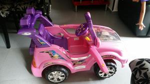 Carro de Niña con Batería Recargable