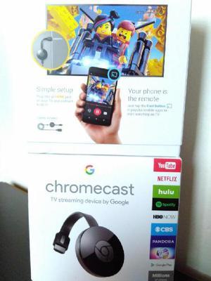 Chromecast 2 Nuevo Y Sellado, para entrega inmediata -