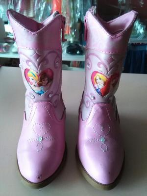 Lindas Botas Princesas de Disney