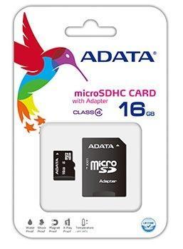 Memoria Adata Micro Sd 16 Gb Clase 4 Celulares Tablets Gps