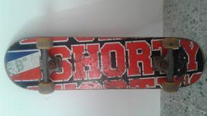 Tabla Skate Shorty + Llantas Vision