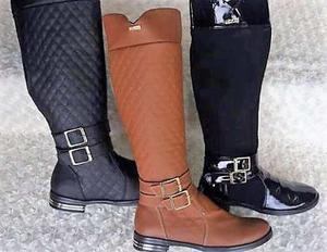 Botas Caña Alta Para Mujer, Zapatos Modernos, Envio Gratis