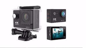 Camara Ultra Hd 4k Sumergible 1080p Wifi + Accesorios