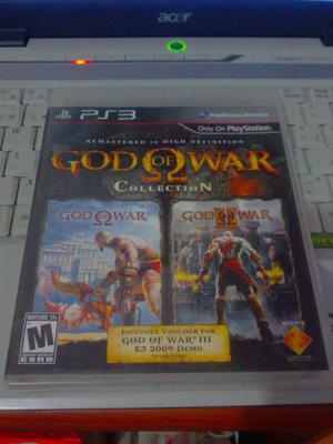 Cambio O Vendo God Of War Collection 1 Y 2 Son 2 Juegos En 1