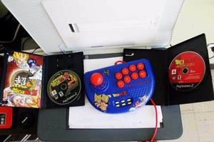 Control Ps2 Dragonball Z Arcade +2 Juegos Originales