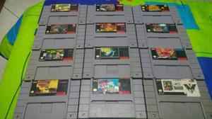 Juegos Originales de Super Nintendo