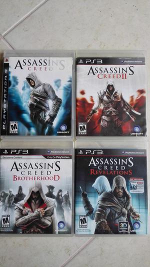 Vendo 4 video juegos de ps3 como nuevos en perfecto