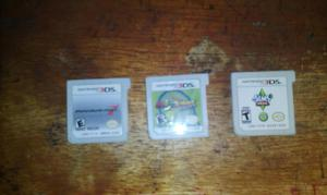 Vendo O Cambio 3 Juegos Nintendo 3ds