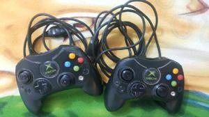 2 Controles de Xbox Clasico Original - Soledad