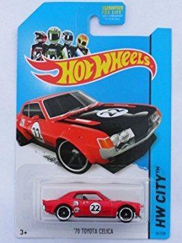 Coleccionable  Hot Wheels '70 Toyota Celica  Hw N