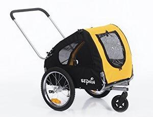 Sepnine 2 En 1 Animal Bicicleta Perro Remolque De Bicicleta