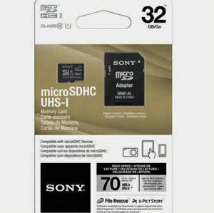 Memoria Micro Sd 32gb Sony Clase 10