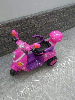 Moto Electrica Recargable Nueva