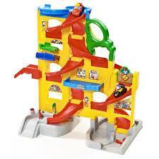 pista Little People Wheelies Stand ' N Play Rampway