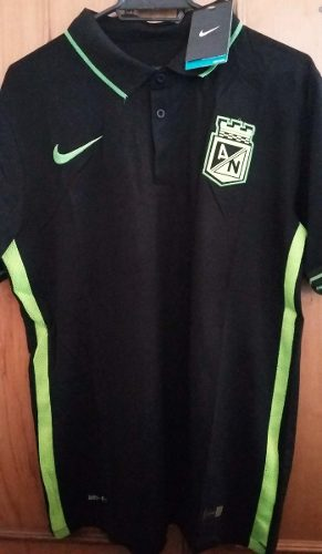 Camiseta atlético nacional tipo polo 91503f23f5072