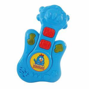 Juguete Musical Gp001 Baby Guitarra Gallinia Pintadita