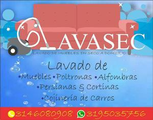 LAVASEC. lavado de muebles en seco - Medellín
