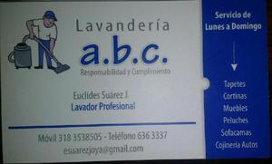 Lavanderia A. B. C 3183538505 - 6363337 - Bucaramanga