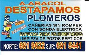 Plomero ABACOL Agencia de Plomeria - Cali