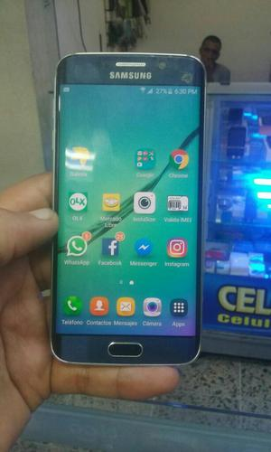 Samsung Galaxy S6 Edge Azul 4g Fisurado