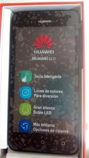 Se vende celular Huawei ECO, de color negro totalmente nuevo