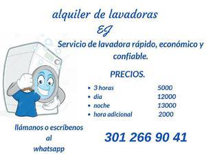 alquiler de lavadoras en robledo - Medellín