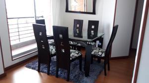 Barata vendo mesa vidrio 9mm 6 puestos con base posot class for Comedor 4 puestos vidrio