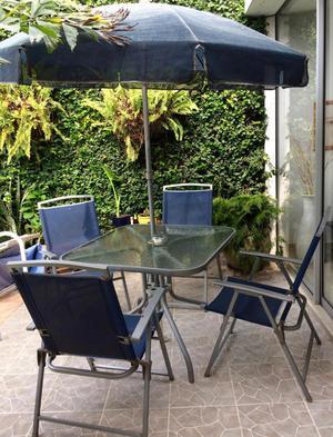 Sillas para terraza balcon y jardin posot class - Mesa de jardin ...