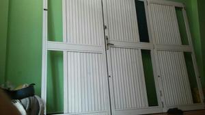 Puertas en Aluminio con Doble Chapa