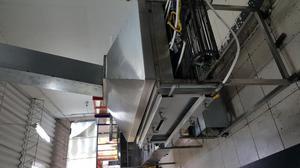tunel asador en acero de arepas para industria o venta de