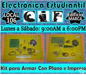 Articulos para Estudiantes de Electrónica y Afines