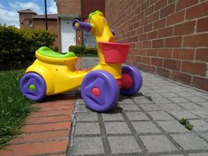 Triciclo Fisher Price Excelente