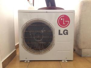 Aire acondicionado tipo mini split marca LG