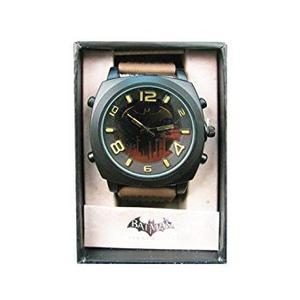 Batman Arkham City Marrón Tierra Reloj De La Correa (ark500